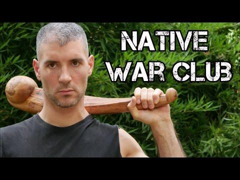 Comment crafter un native american war club