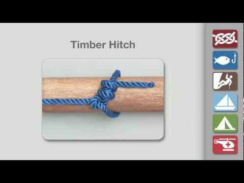 Timber Hitch | How to Tie the Timber Hitch