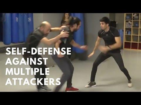ISRAELI KRAV MAGA SERIES   Ep. 18 Defense Against Multiple Attackers