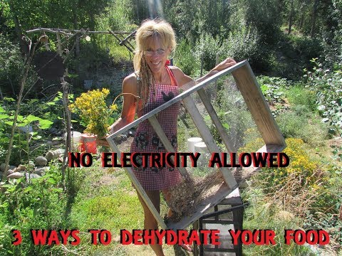 Dehydrating Food Without Electricity : Sustainable Ideas For Life