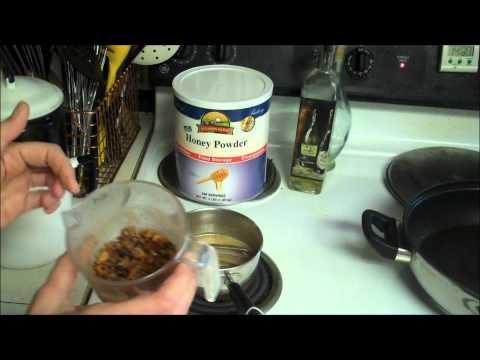 Food Storage: Rehydrating Honey Powder