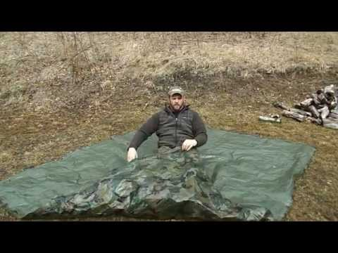 Improvised Burrito shelter
