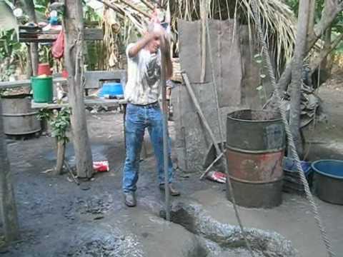 Baptist well drilling: sludging