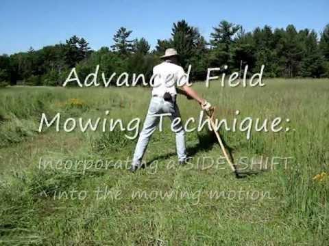 Scythe Workshop: How to Mow with a Scythe