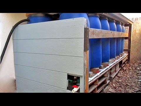 DIY Backyard Rainwater Harvesting Using Repurposed Food Grade Barrels
