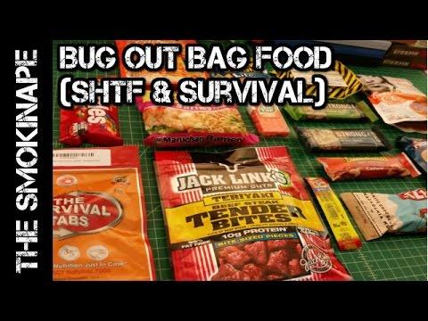 Bug Out Bag Food Options (SHTF & Survival) - TheSmokinApe