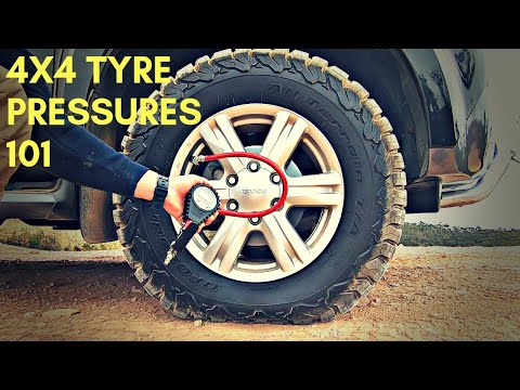 Off-Road 4WD Tyre Pressures - Sand, Mud, Rock and Snow