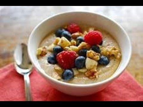 Gluten Free Vegan Amaranth Fruit Porridge