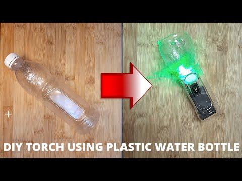 DIY Torch   Easy DIY torchlight #DIYSCIENCESCHOOLPROJECTS #lifehacks #tipsandtricks