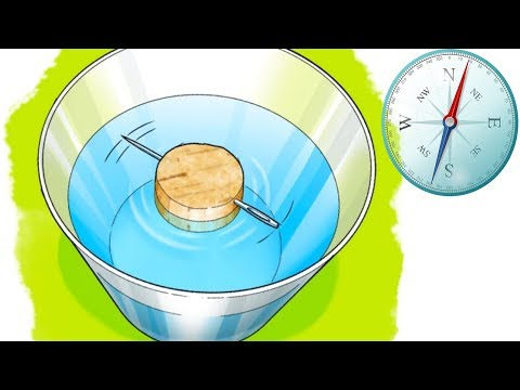How to make a Compass at home