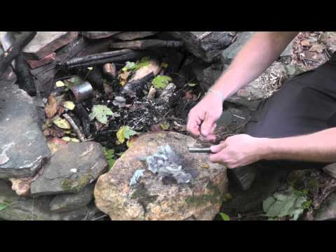 Starting a Fire with Dryer Lint - The Outdoor Gear Review