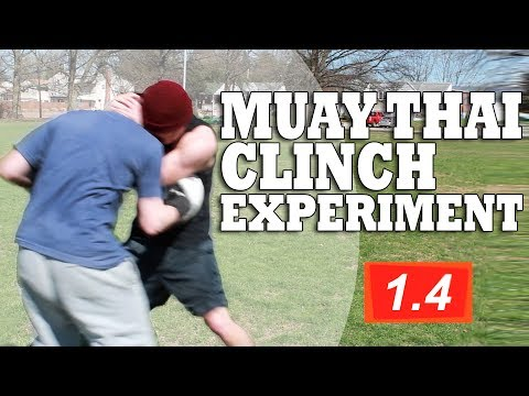 Muay Thai Clinch in a Street Fight (Experiment & Tutorial)