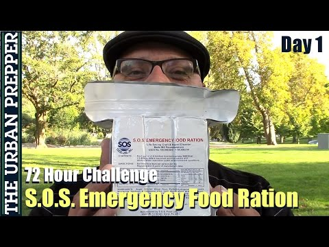 S.O.S. 72 Hour Challenge: Day 1 by TheUrbanPrepper