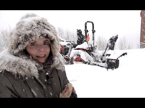 Blizzard Buries our Colorado Homestead & Our Heat Goes Out!!