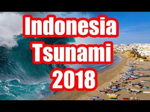 Indonesia Tsunami 2018 - New Unseen Footage 2018