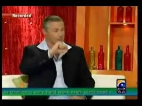 Ricky Megee Australia NT 1st Tv Nadia khan show Part 3