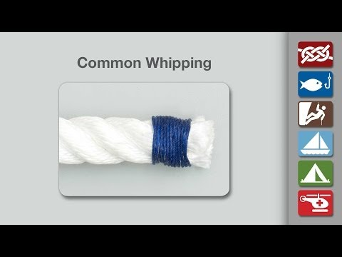 Common Whipping | How to Tie a Common Whipping