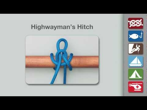 Highwayman's Hitch | How to Tie a Highwayman's Hitch