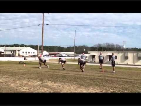 Military Movement Drill - Crouch Run