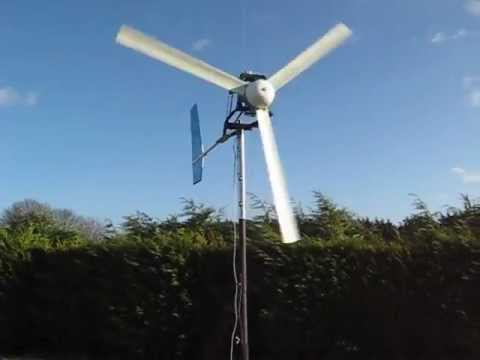Home Build Wind Turbine Using Car Alternator