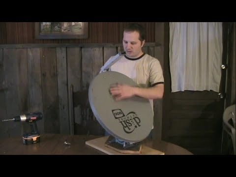 How to build a Parabolic Solar Cooker using a Satellite Dish