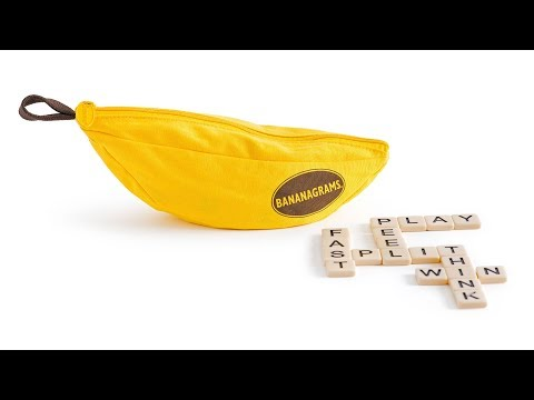 Bananagrams How to Play Video