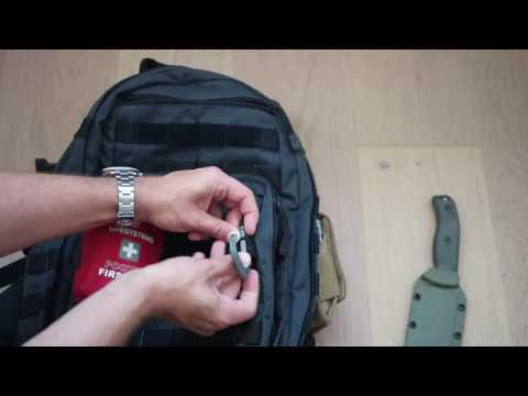 How to use PALS on your Molle backpack