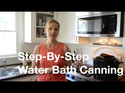 Step-By-Step Guide To Water Bath Canning (Pickled Beans)- AnOregonCottage.com