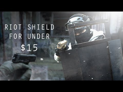 Making an Airsoft Riot Shield for under $15