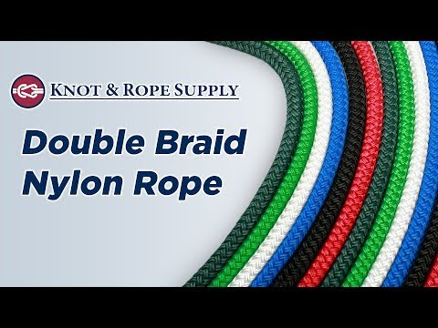 Double Braid Nylon Rope at Knot & Rope Supply