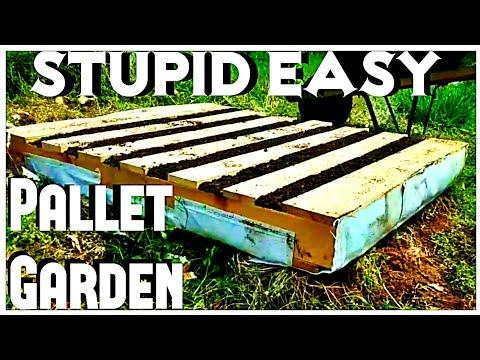 Easy Pallet Garden - Pallet DIY