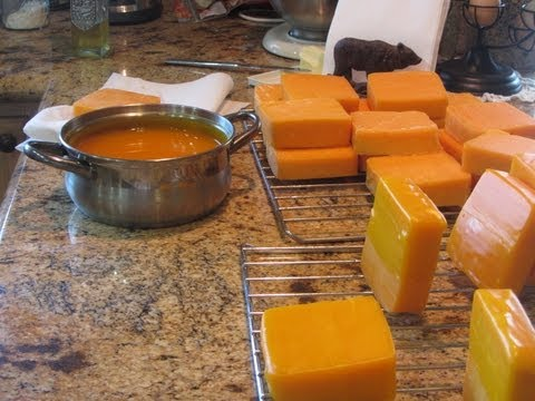 Preserving Cheese Using The Waxing Method