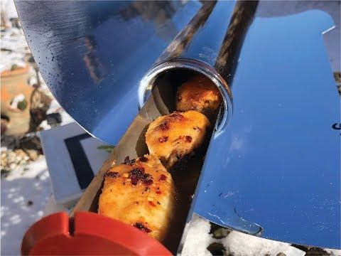 Solar Cooker Recipes: Super Solar Chicken Wings