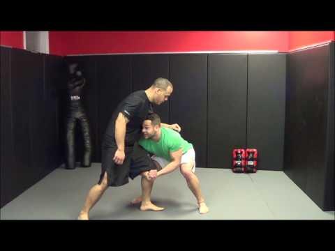 MMA Training: Single Leg to a Double Leg Takedown