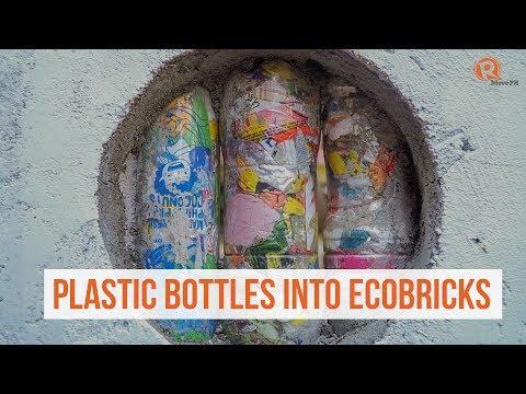 How to repurpose plastic bottles into ecobricks
