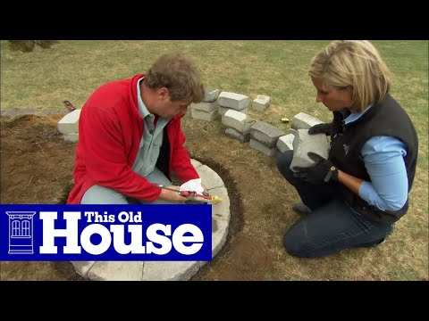 How to Build a Fire Pit   This Old House