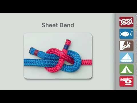 Sheet Bend Knot | How to tie a Sheet Bend Knot