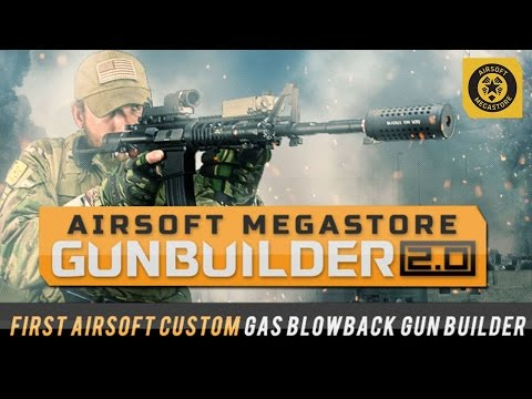 How to build your custom Airsoft Gun with the AMS Gun Builder 2.0!