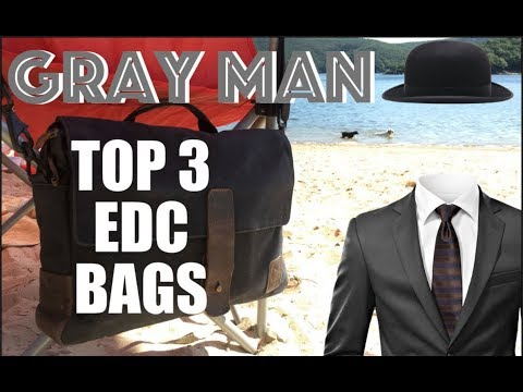 GRAY MAN: Top 3 BEST Everyday Carry Backpacks | EDC Bags 2018