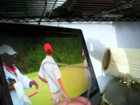 Paper Clip Antenna HDTV Television
