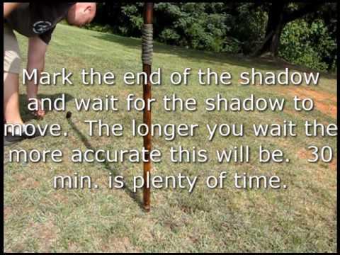 Shadow stick navigation