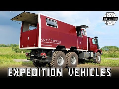 9 Best Expedition Vehicles with Offroad Capabilities: Luxury Features on Any Overlanding Trip