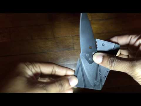 Instablade Credit Card Knife Review