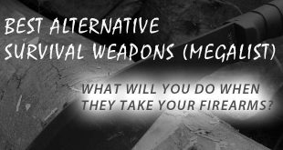 survival alternative weapons