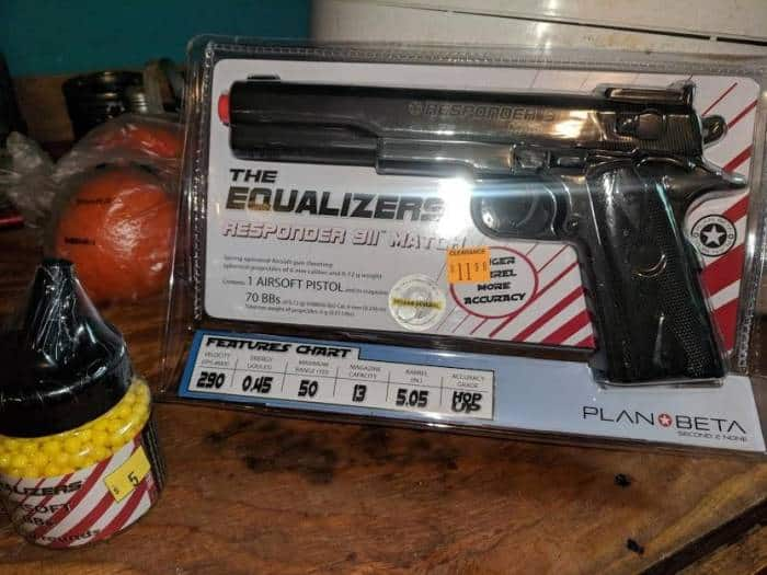 the equalizer airsoft pistol