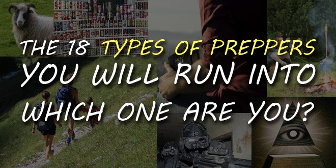 types of preppers logo