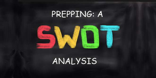 prepping swot analysis