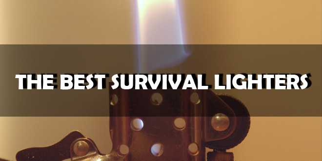 best survival lighters logo