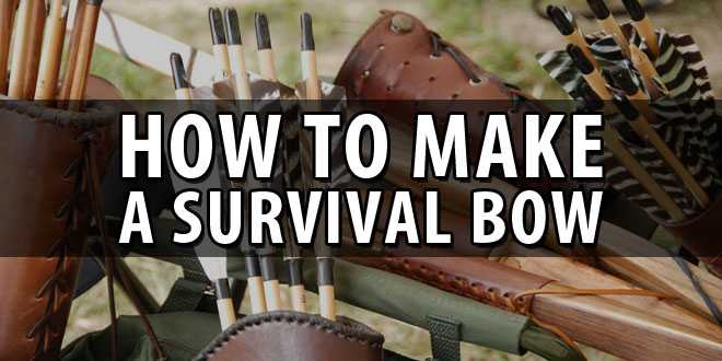 how to make a survival bow logo
