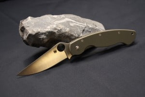 spydeco pocket military knife